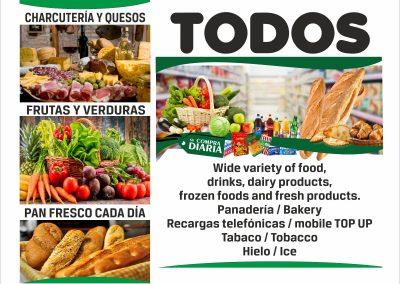 SUPERMERCADOS TODOS TENERIFE ISLAS CANARIAS